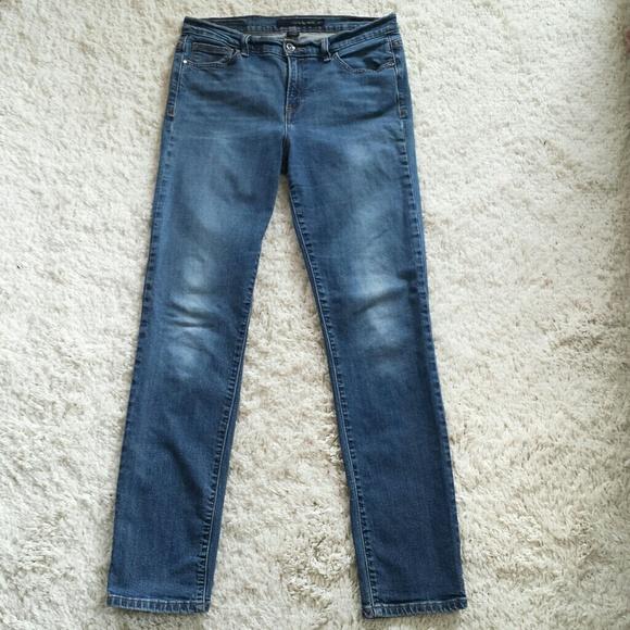 ce8706ac1e2 Calvin Klein Jeans Denim - CK Women's Distressed Denim Skinny Jeans ...